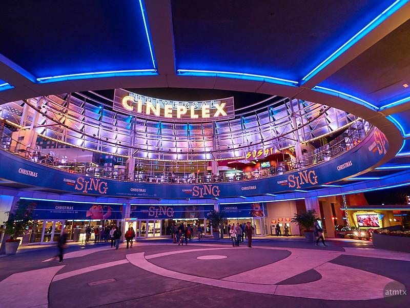 Universal Cineplex, Universal Citywalk - Orlando, Florida