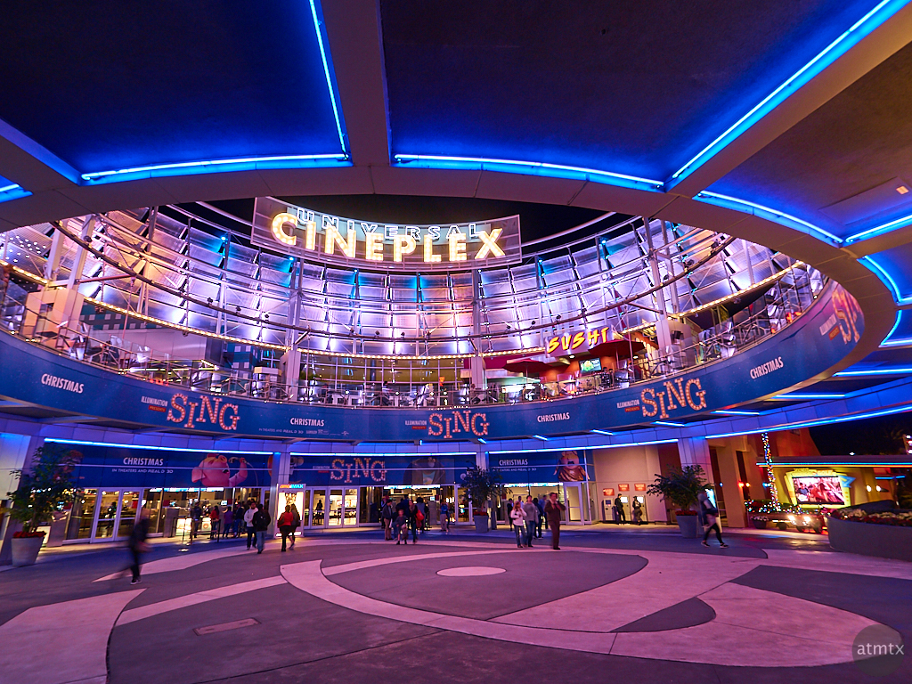 Universal Cineplex At Citywalk Atmtx Photo Blog