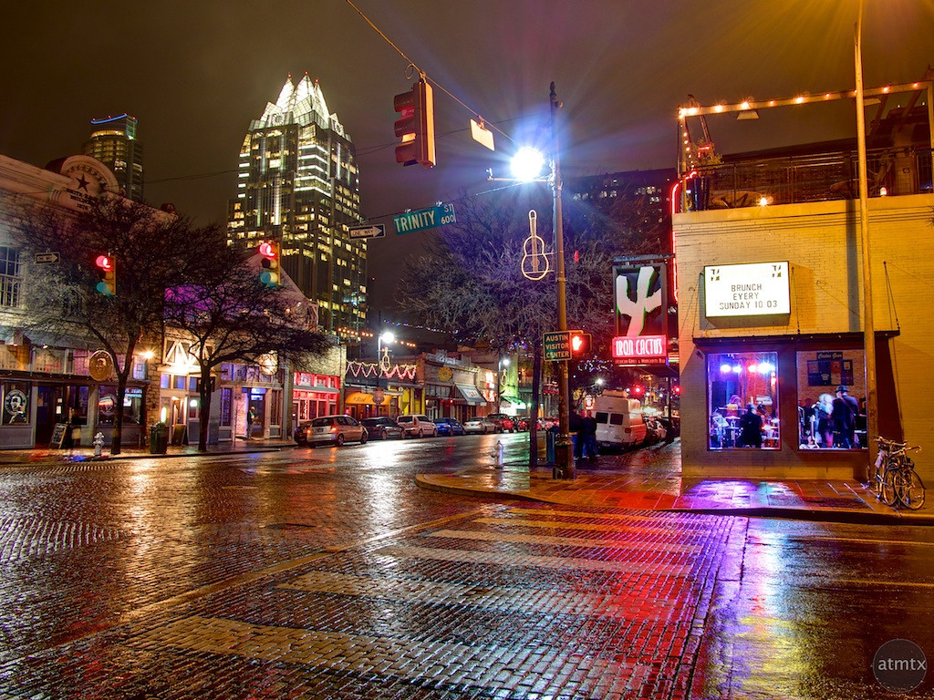 6th Street and Trinity - Austin, Texas