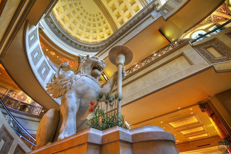 Winged Lion at Forum Shops, Caesars Palace - Las Vegas, Nevada