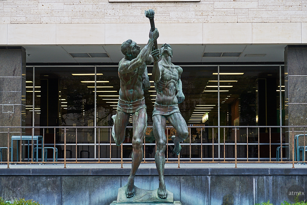 The Torchbearers, University of Texas - Austin, Texas
