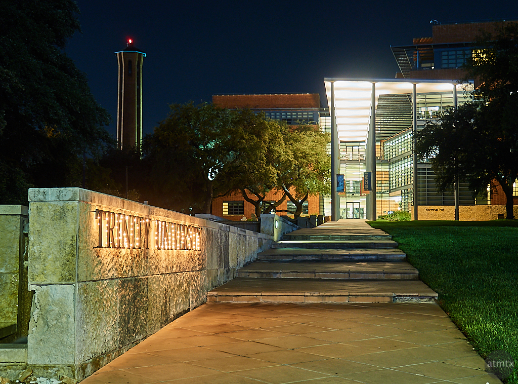 Main Entrance, Trinity University - San Antonio, Texas