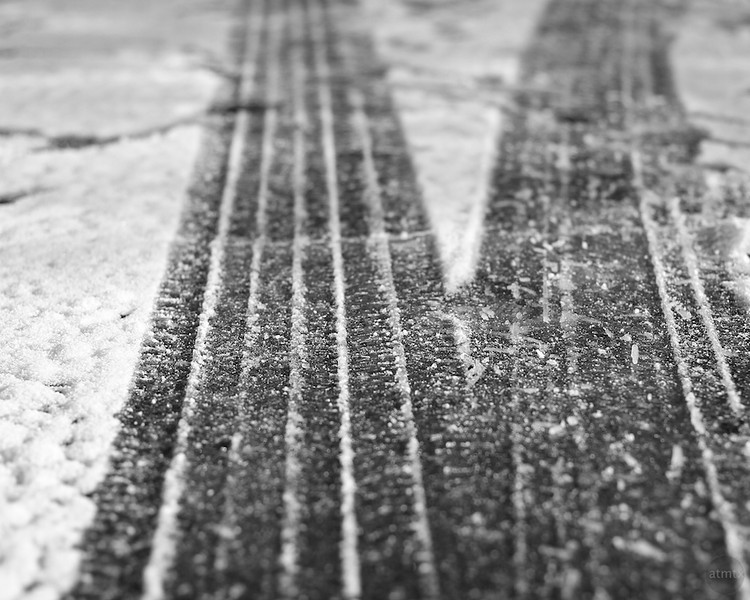 Snow Tracks #1 - Austin, Texas