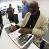 Eli Reed Signs his Book, Precision Camera - Austin, Texas