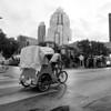 Covered Pedicab, 6th Street - Austin, Texas