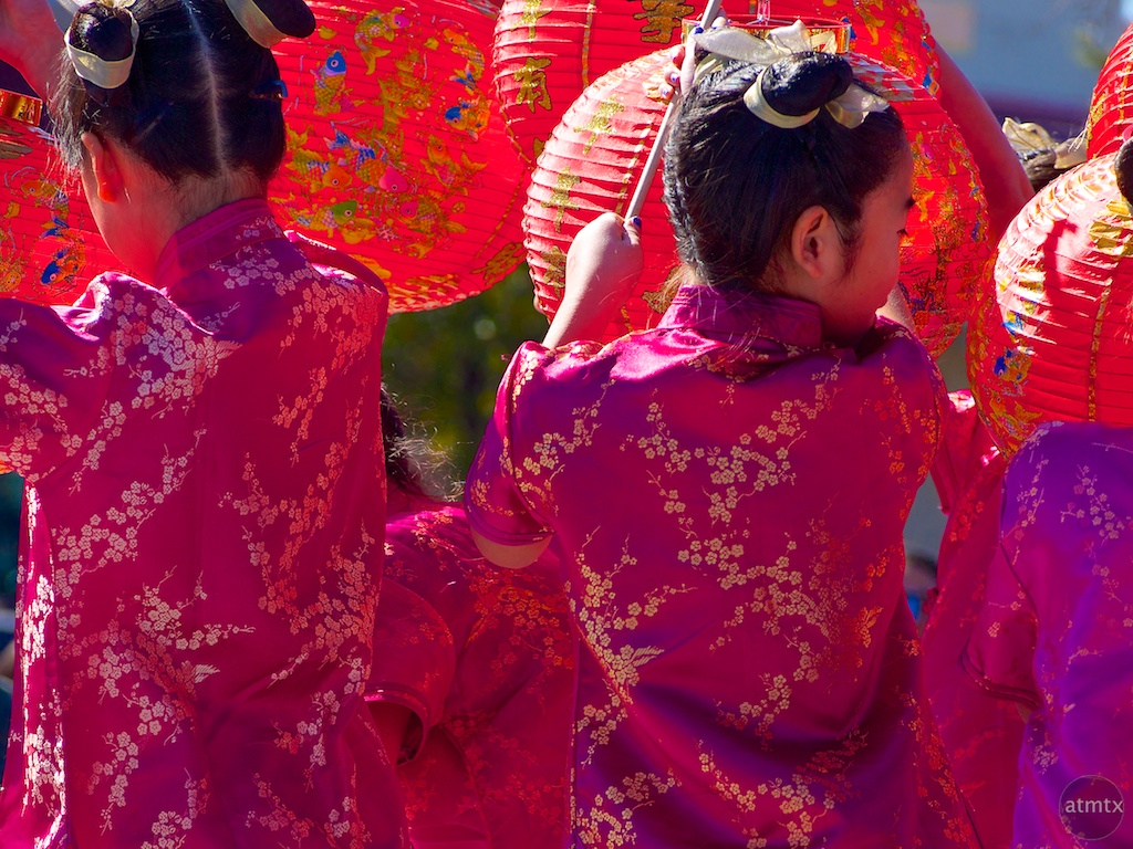 Shades of Red, 2013 Chinese New Year Celebration - Austin, Texas