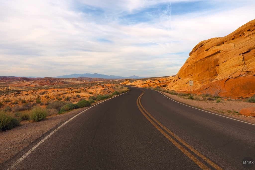 A Road Runs Through It, Valley of Fire State Park - Overton, Nevada