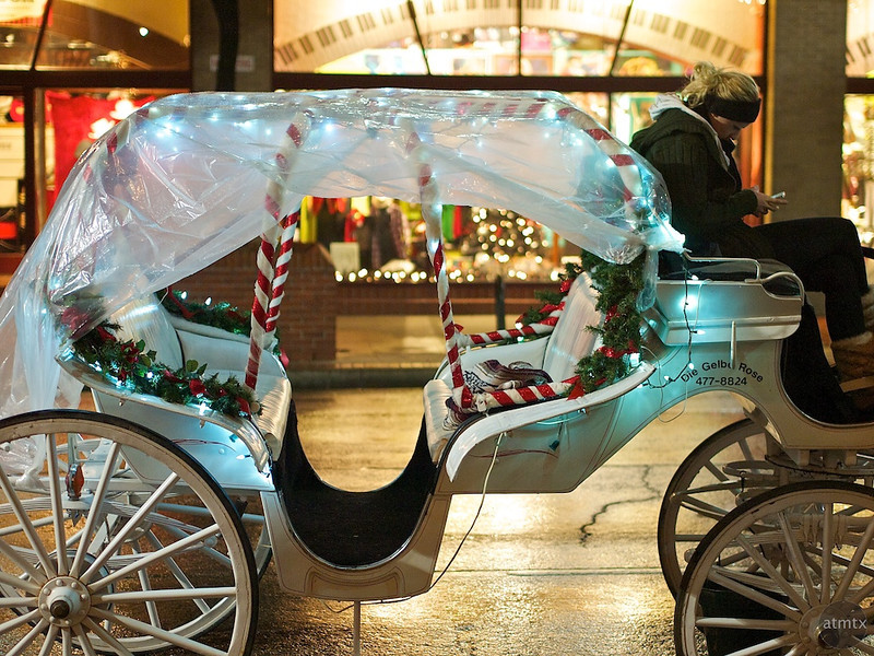 Covered Carriage, 6th Street - Austin, Texas