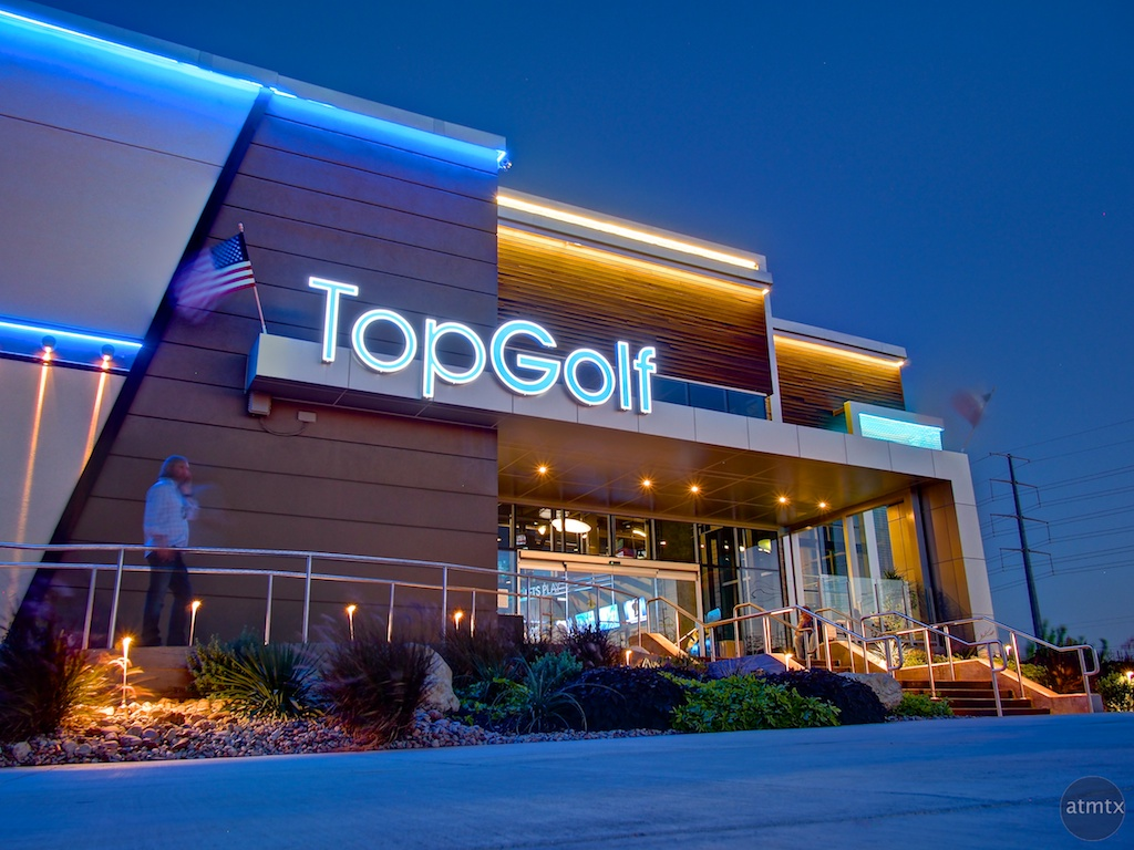 Entrance, Top Golf - Austin, Texas