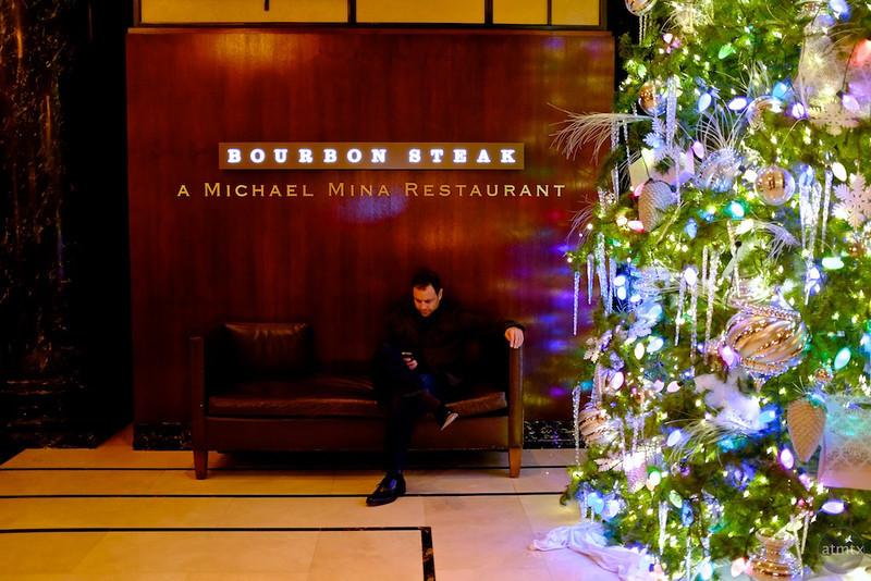 Christmas Tree at the Bourbon Steak - San Francisco, California