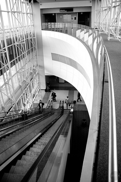 Skylink Escalator - DWF Airport, Texas