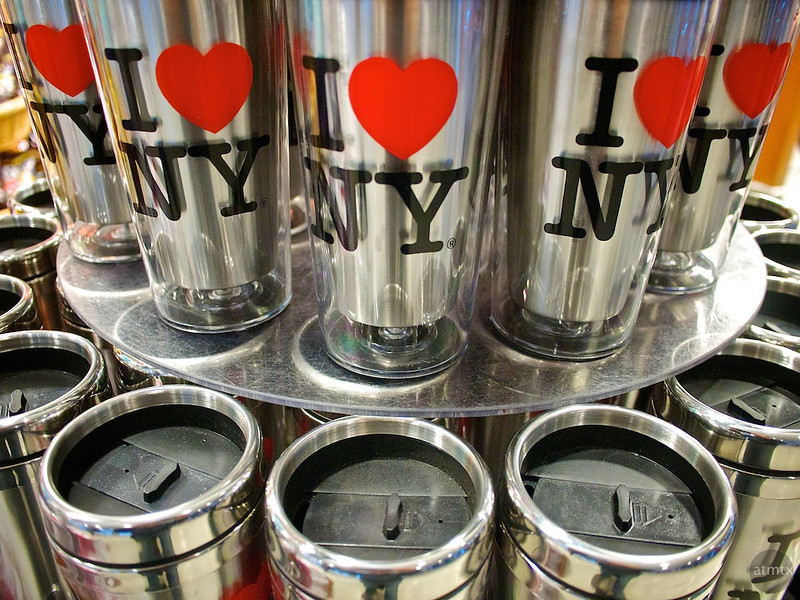 I Love NY Cups, JFK Airport - Queens, New York