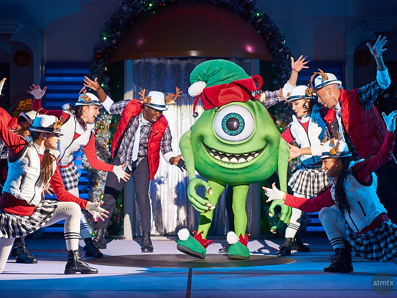 Mike and his Dancers, Disney World - Orlando, Florida