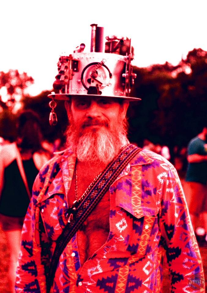 Steampunk Man, Eeyore's Birthday Party - Austin, Texas