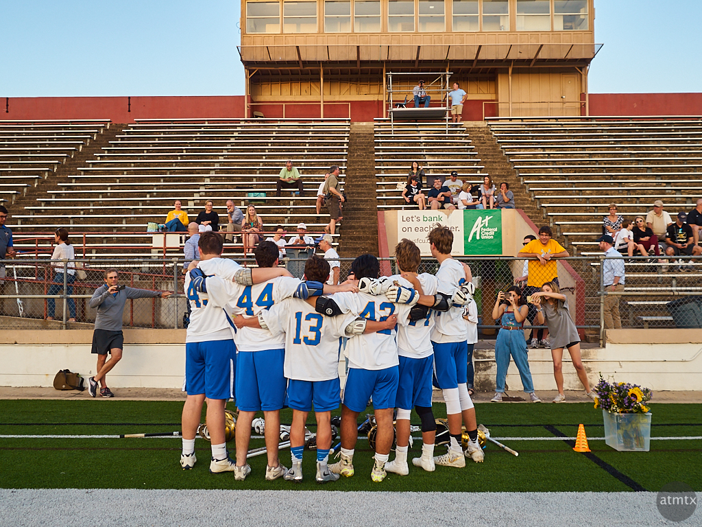 Senior Night, Varsity Lacrosse - Austin, Texas