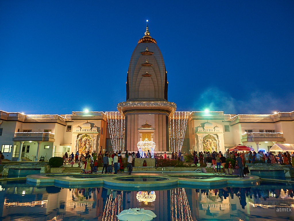Hindu Temple at Blue Hour - Austin, Texas