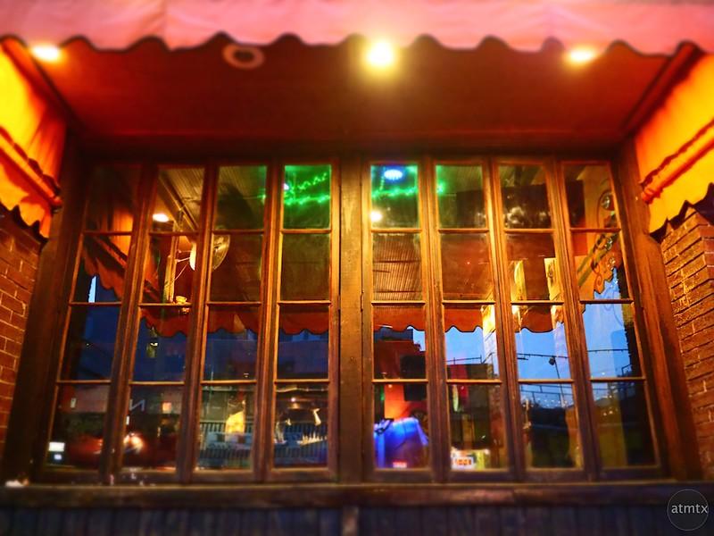 Trophy Room Window, 6th Street - Austin, Texas