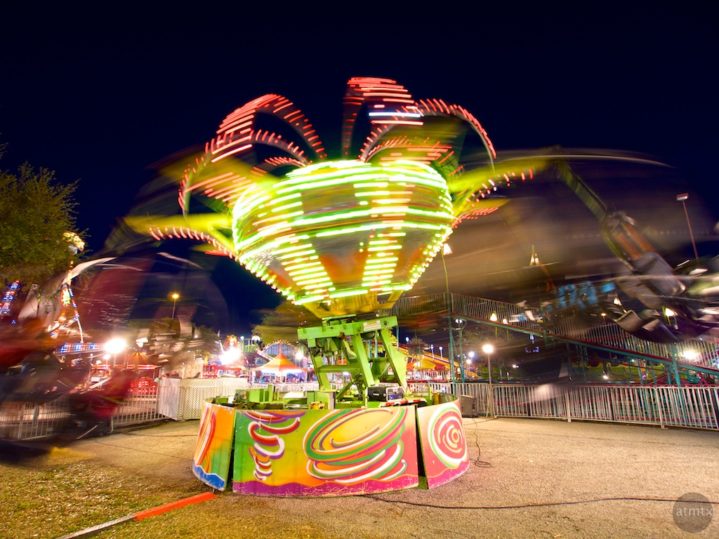 Rodeo Austin Motion Blur - Austin, Texas