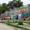 Observations at the graffiti wall #13 - Austin, Texas