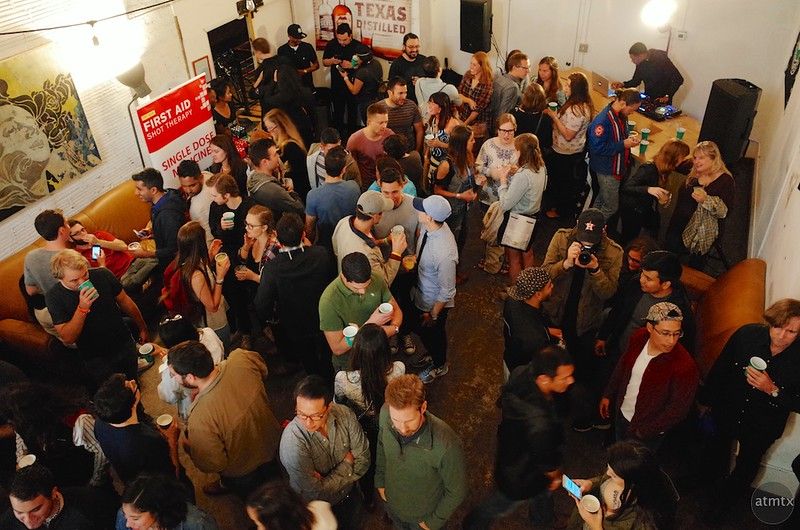 Bird's Eye View, Olympus SXSW Drink and Click - Austin, Texas