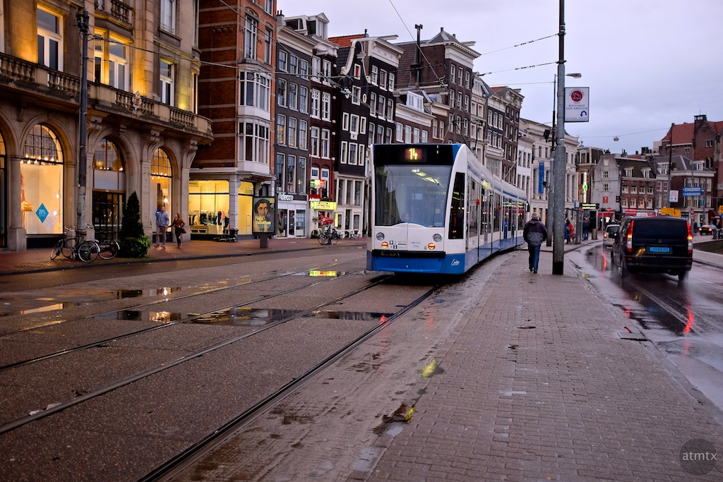 The Trams of Amsterdam #6 - Amsterdam, Netherlands
