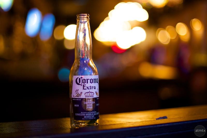 Corona Extra with Bar lights - Austin, Texas