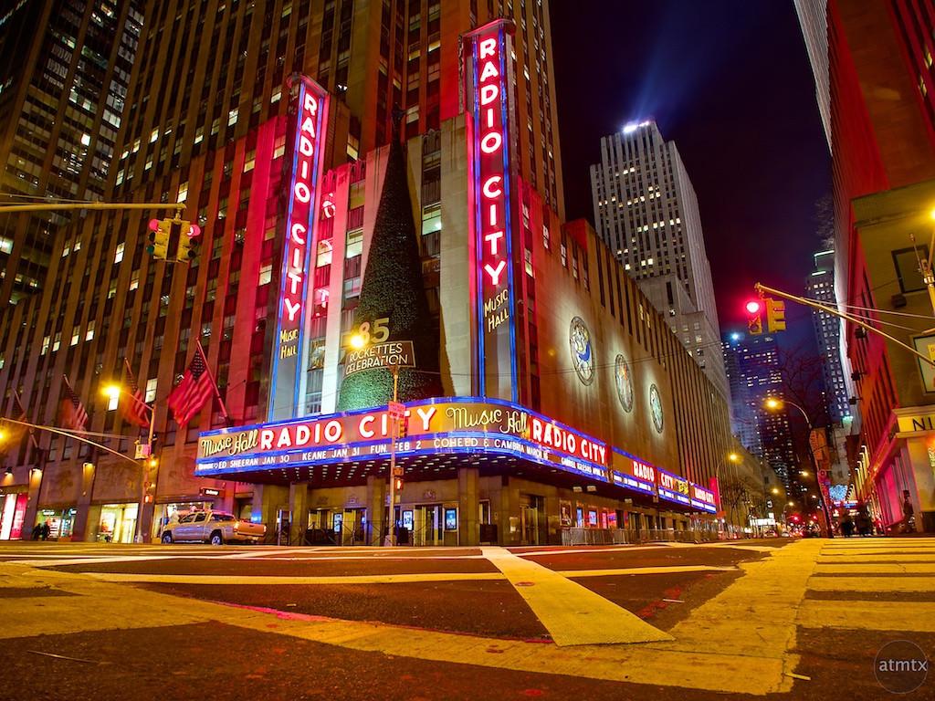 Radio City Music Hall - New York, New York
