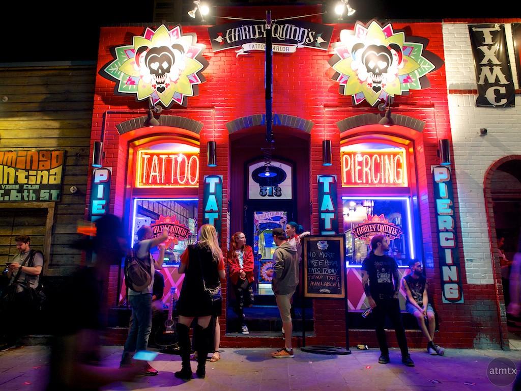 Harley Quinn's Tattoo Parlor, SXSW 2016 - Austin, Texas