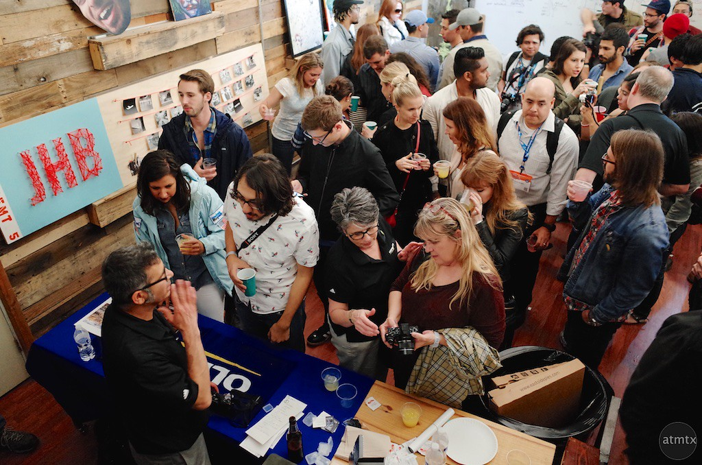 The Olympus Table, Olympus SXSW Drink and Click - Austin, Texas