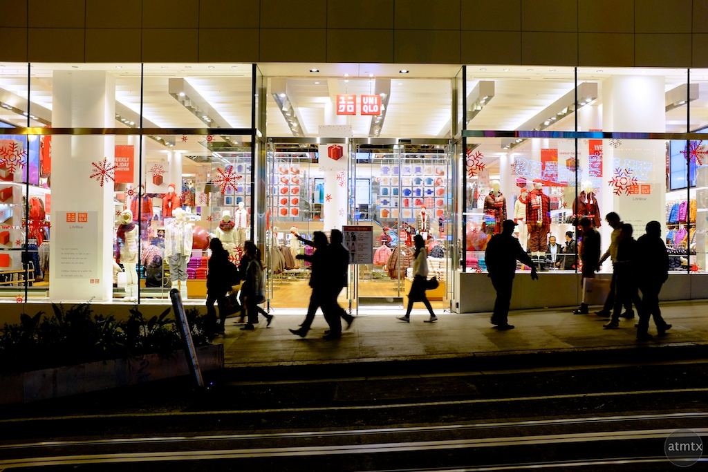Uniqlo Silhouettes - San Francisco, California