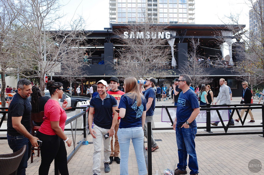 Samsung Restaurant, SXSW 2016 - Austin, Texas