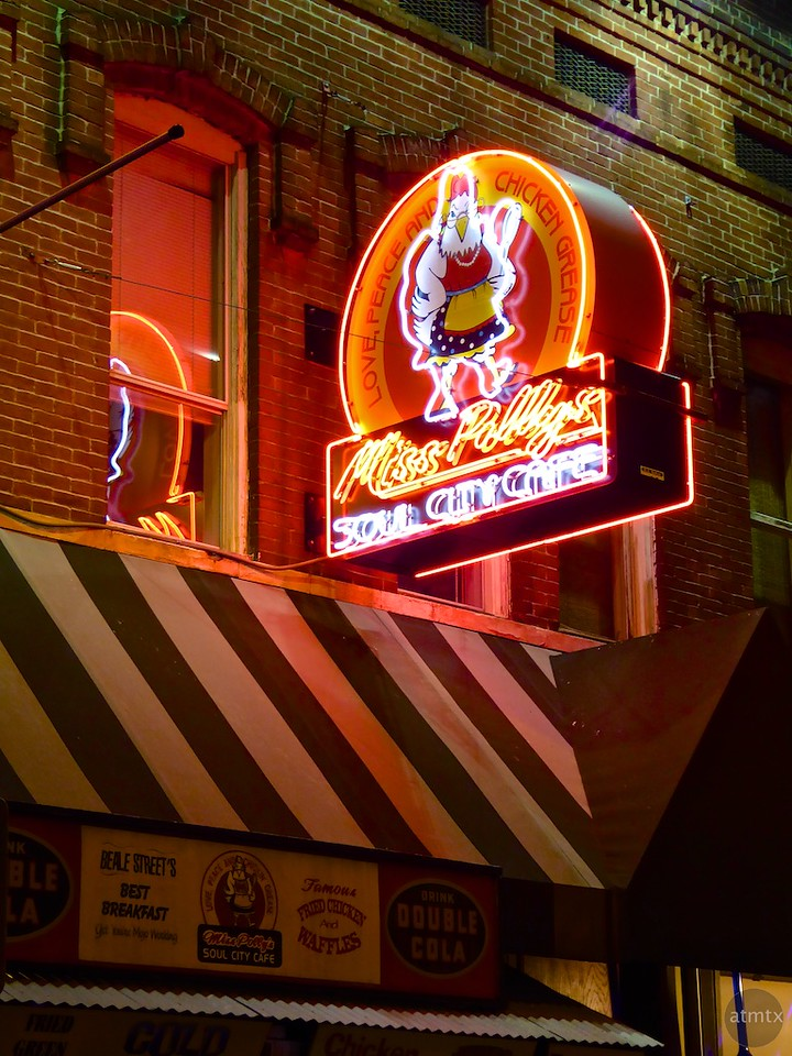 Beale Street Neon - Memphis, Tennessees