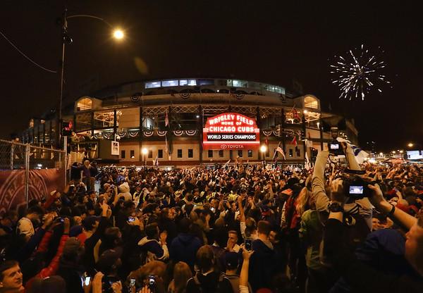 Wrigley Field - Chicago, Illinois - 11/2/16