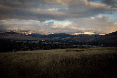 Last Light over Missoula