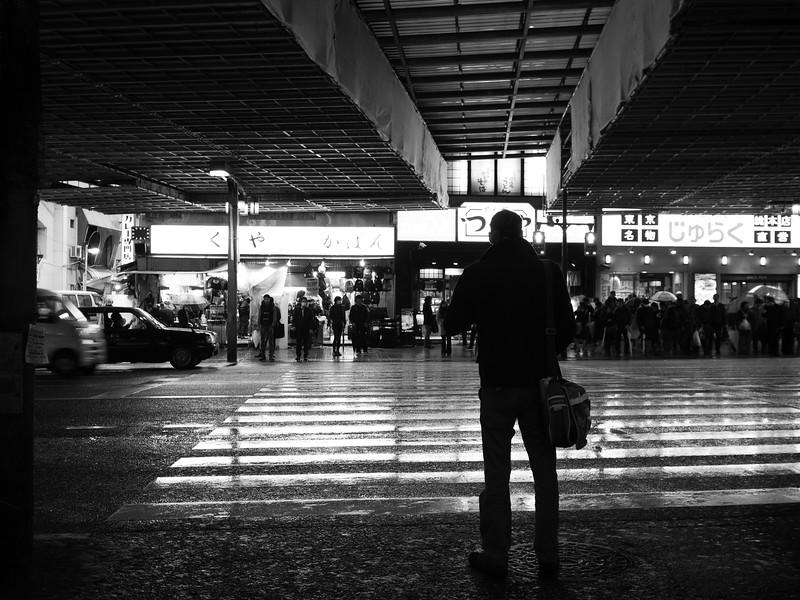 At the Crosswalk - Tokyo, Japan