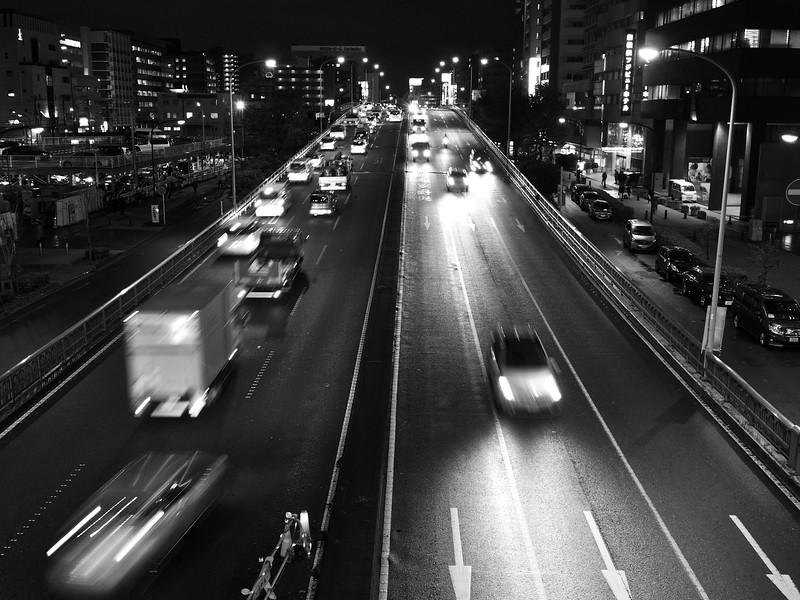 Left Side Driving - Yokohama, Japan