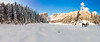 Panoramic - stich of 5 photos<br /> Dream Lake Hike <br /> Rocky Mountain National Park