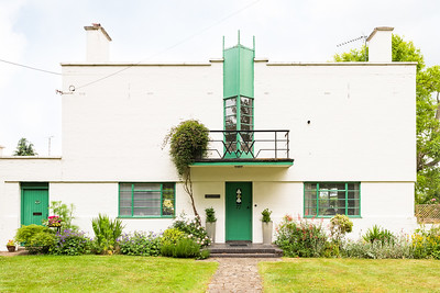 Wolverton - A managers house built by Francis Henry Crittall. Designed by Thomas Tait and Frederick MacManus