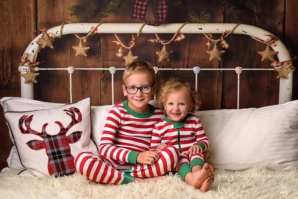 Cincinnati Christmas PJ Mini Sessions