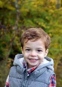 Best Cincinnati Child Photographer Fall Photo of Toddler Boy