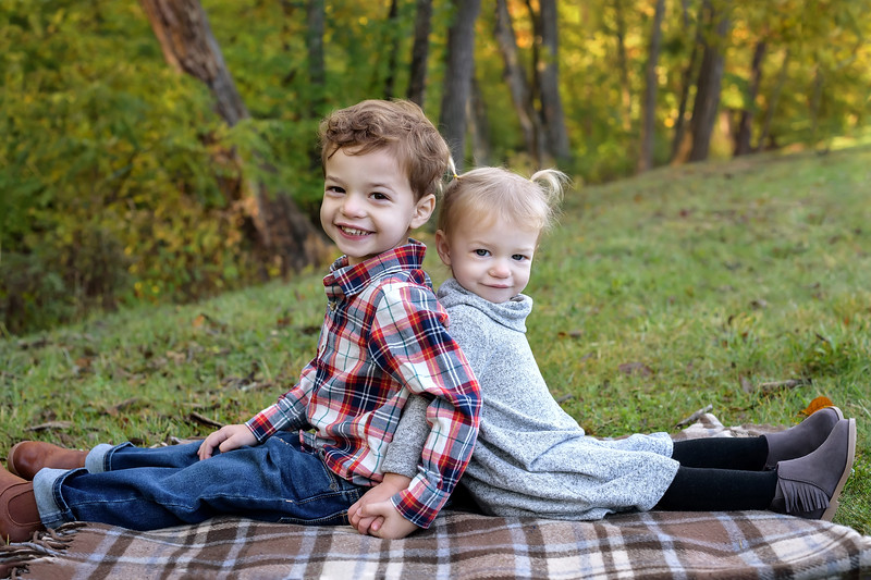 Cincinnati Family Photographer Brother and Sister Sibling Photo
