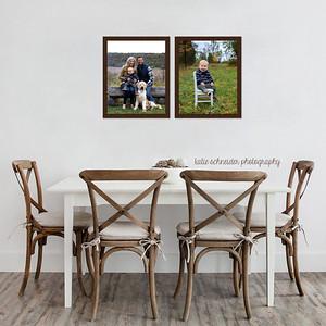 Top Cincinnati Family Photographer Framed Wall Collage