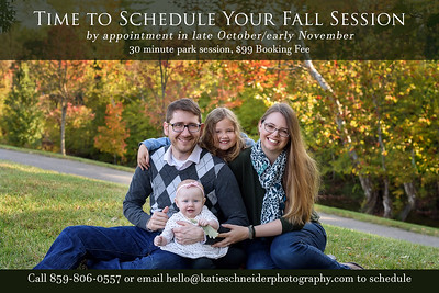 Fall Mini Sessions in Cincinnati, OH 2020