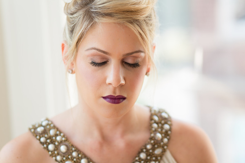 fall bridal beauty