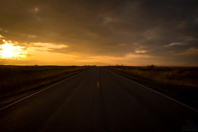 Highway 212 Sunset
