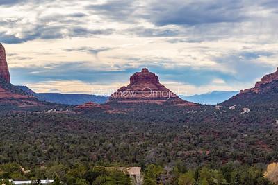 The bell, red rocks of Sedona. Arizona.