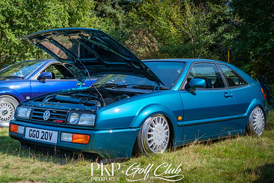 Volkswagen Corrado with crazy wheels