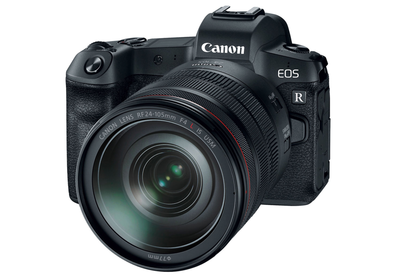Canon EOS R with the 24-104mm f4 lens
