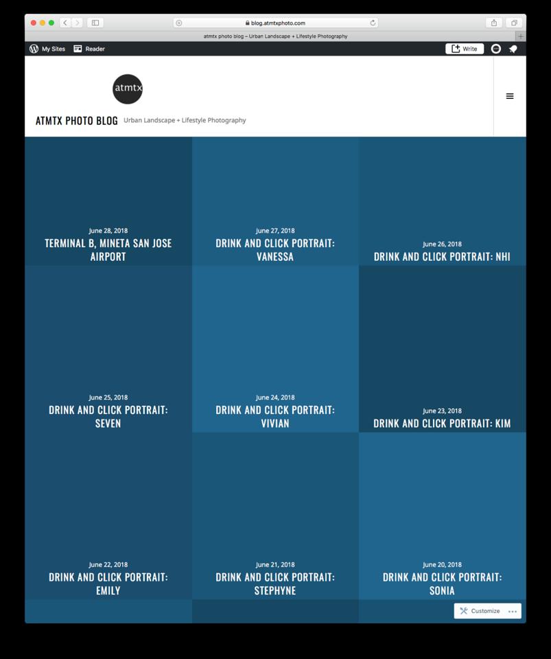 Blue screen at atmtx photo