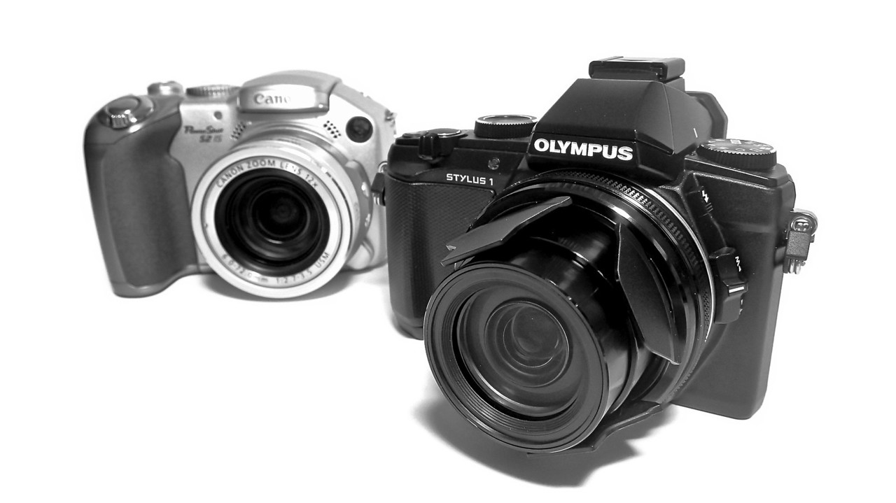 Olympus Stylus 1 Comparison